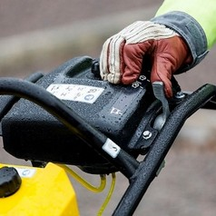 """Вибротрамбовка бензиновая, с индикатором воздушного фильтра и счетчиком моточасовATLAS COPCO LT 6005 9"""" + (Швеция)"""
