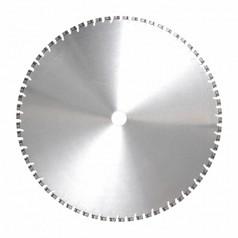 Алмазный диск для стенорезных устройств по армированному старому бетону, бетонным плитам диаметром 650 ммDR.SCHULZE DSW15/DSW20/DSW30 5,0 650 (Германия)