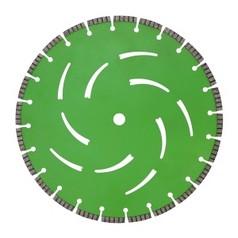 Алмазный диск по армированному бетону, граниту диаметром 350 ммDR.SCHULZE Laser Extreme Cut 350 (Германия)