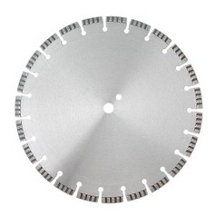 Алмазный диск по армированному бетону, граниту, строительным материалам диаметром 400 ммDR.SCHULZE Laser Turbo U 400 (Германия)