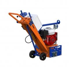 Фрезеровальная машина для обработки бетонных полов, с электростартером (с барабаном)LATOKHO RM 200 GE (Россия)
