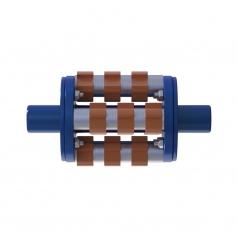 Фрезеровальный барабан (фреза) с карбидными ножами для демонтажа разметки шириной 100 ммLATOKHO DCCR 200/100 (Россия)