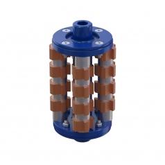 Фрезеровальный барабан (фреза) с карбидными ножами для демонтажа разметки шириной 150 ммLATOKHO DCCR 200/150 (Россия)