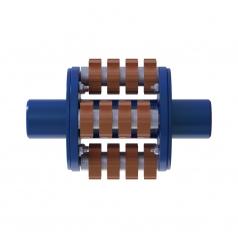Фрезеровальный барабан (фреза) с карбидными ножами для демонтажа разметки шириной 100 ммLATOKHO DCCR 250/100 (Россия)