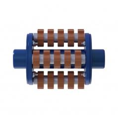 Фрезеровальный барабан (фреза) с карбидными ножами для демонтажа разметки шириной 150 ммLATOKHO DCCR 250/150 (Россия)