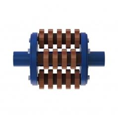 Фрезеровальный барабан (фреза) с карбидными ножами для демонтажа разметки шириной 150 ммLATOKHO DCCR 300/150 (Россия)