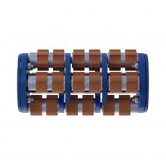 Фрезеровальный барабан (фреза) с карбидными ножами с четырехгранной посадкойLATOKHO DCC 200_4 (Россия)