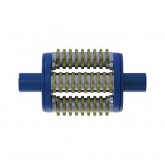 Фрезеровальный барабан (фреза) с ламелями для демонтажа разметки шириной 100 ммLATOKHO DSCR 200/100 (Россия)