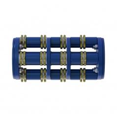 Фрезеровальный барабан (фреза) с пятигранными ножами для нанесения насечек 15 мм с шагом 40 ммLATOKHO DSCN 200 15/40 (Россия)