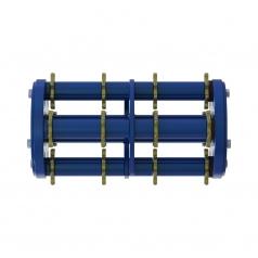 Фрезеровальный барабан (фреза) с восьмигранными ножами для нанесения насечек 8 мм с шагом 100 ммLATOKHO DSCN 350 8/100 (Россия)