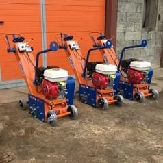Демаркировочная машина для снятия асфальта, дорожной разметки и бетонного покрытия (с барабаном)LATOKHO DM 200 G (Россия)