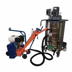 Демаркировочная машина для снятия асфальта, дорожной разметки и бетонного покрытия, с электростартером (с барабаном)LATOKHO DM 300 GE (Россия)