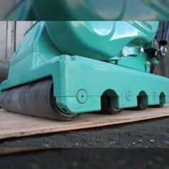 Виброплита поступательного движения для укладки плитки, бензиноваяMIKASA MVB-85 (Япония)