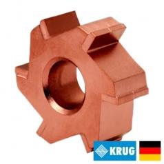 Нож с карбидными вставками на фрезеровальные барабаны 250 ммKRUG Milling cutter (Германия)