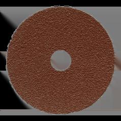 Пад синтетический коричневый диаметром 406 мм для чистки полов, удаления грязиJANSER Pad BROWN (Германия)
