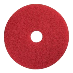 Пад синтетический красный диаметром 406 мм для натирки маслом и воскомJANSER Pad RED (Германия)