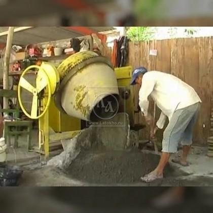 Аренда бетоносмесителя (бетономешалки) В-460 (Турция)