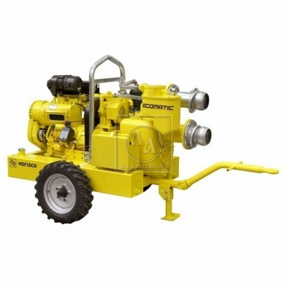 Установка строительного водопонижения VARISCO ECOMATIC JD6-250 G10 FVM06 V04 (Италия)