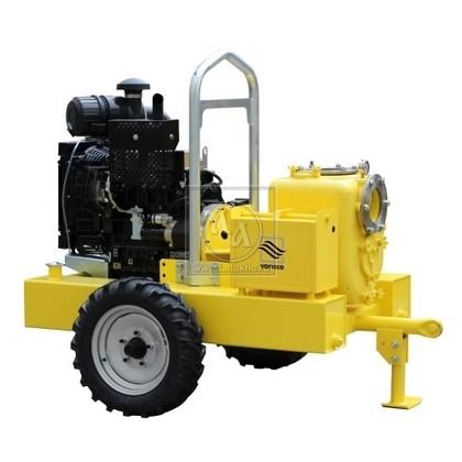 Дизельная мотопомпадля сильнозагрязненных вод VARISCO JD 6-250 G10 FKL10 TRAILER (Италия)