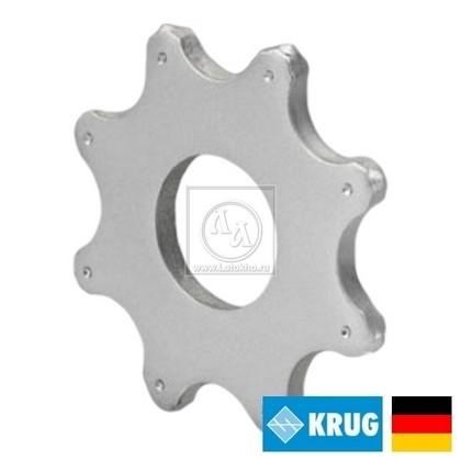Восьмигранный нож на фрезеровальные барабаны 300, 350 мм KRUG 8-pt. Star cutter (Германия)