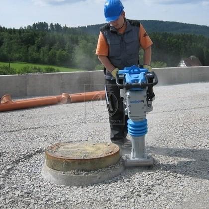 Вибротрамбовка бензиновая WEBER SRV 620 (Германия)
